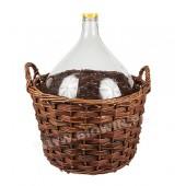 Бутыль в плетеной корзине 25 литров