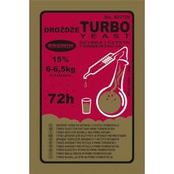 Спиртовые дрожжи TURBO  72 часа