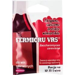 Дрожжи винные для красного вина   FERMICRU VR5