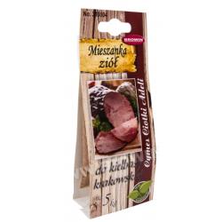 Приправа для приготовления колбасы из красного мяса