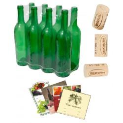 Бутылка для вина 0,75 л. упаковка